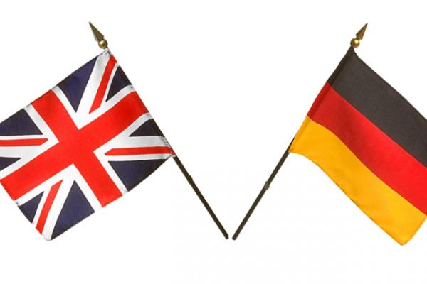 Parole tedesche simili all'inglese