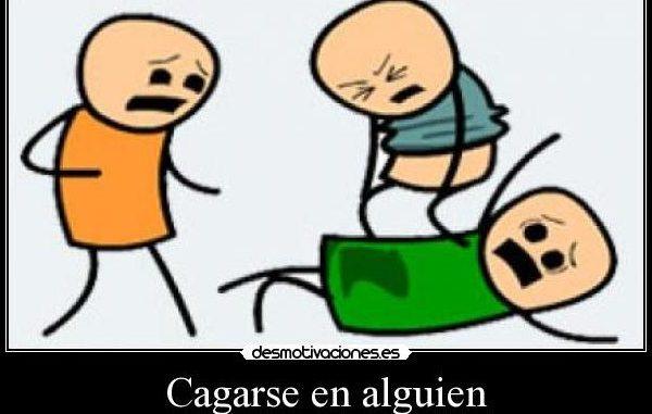 Cagare in spagnolo