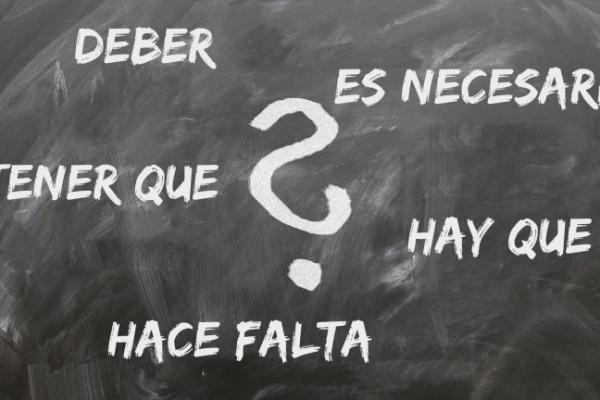 Perifrasi di obbligo in spagnolo (hay que, tener que, deber, hace falta etc.)