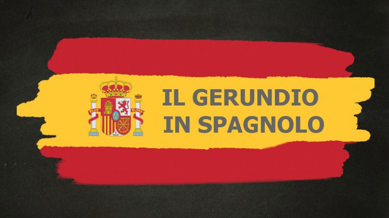 come si forma gerundio spagnolo