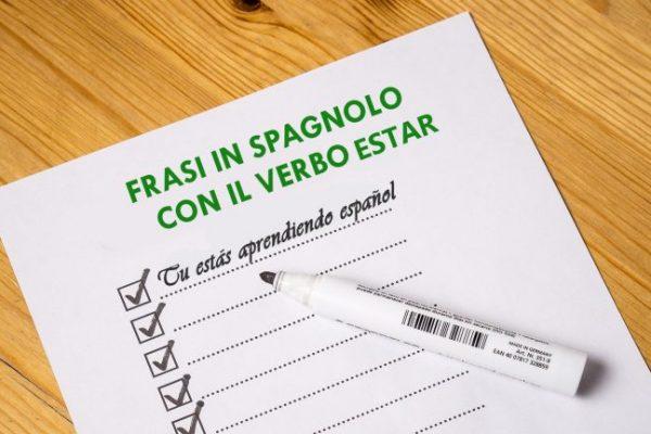 Frasi con il verbo estar – spagnolo