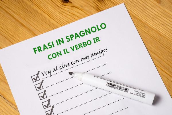 Frasi con il verbo IR in spagnolo (in diversi tempi verbali)