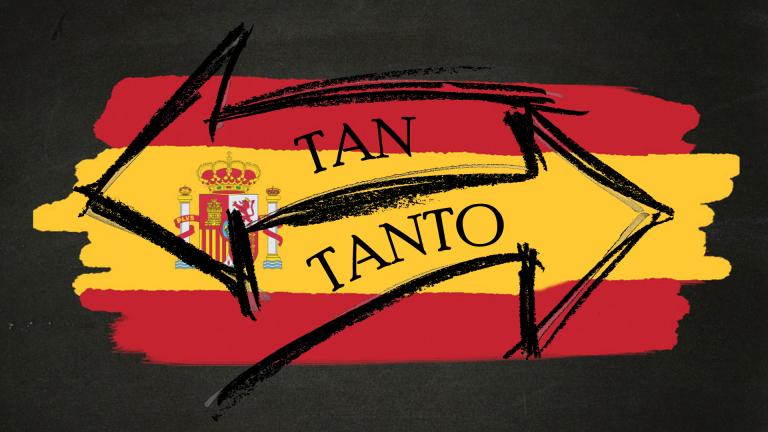 differenza tan tanto spagnolo