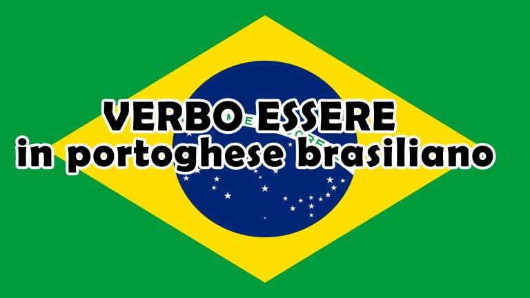 verbo essere brasiliano