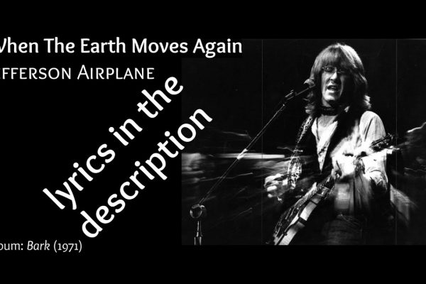 When the Earth moves again